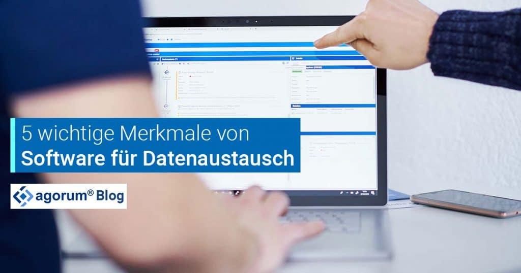 Software für Datenaustausch