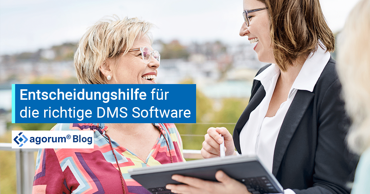 Entscheidungsfindung für eine DMS Software