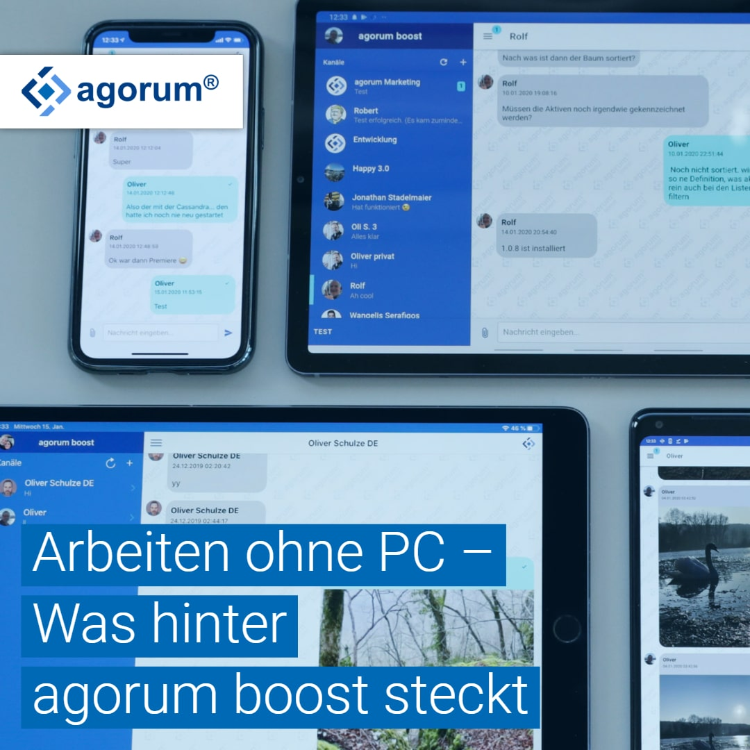 Nerd Blog agorum boost PC-los arbeiten Vision