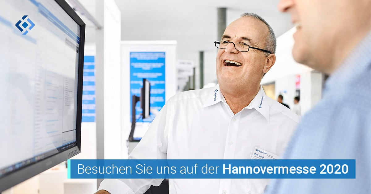 agorum auf der Hannovermesse 2020 Freitickets