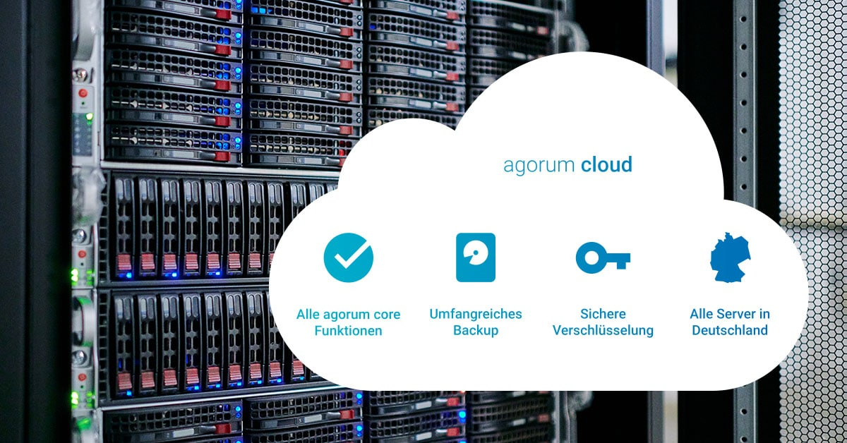 Revisionssicher archivieren in der Cloud – sofort loslegen mit dem DMS agorum core