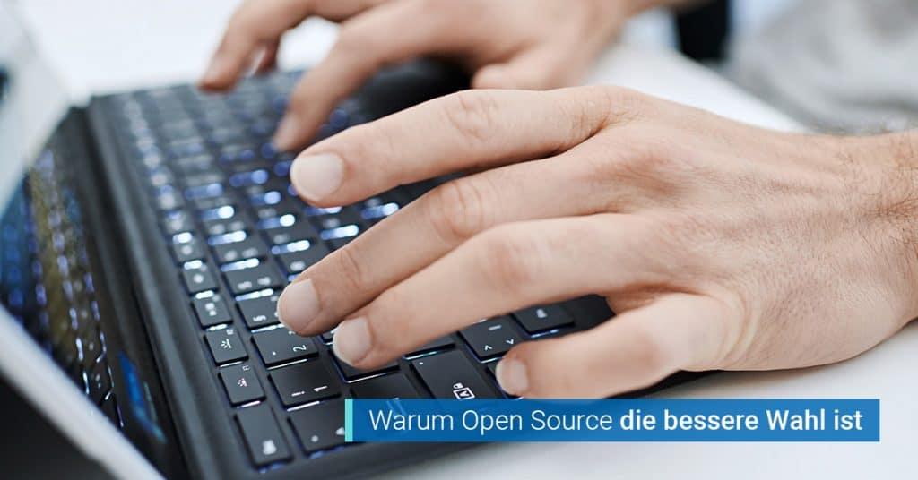 Gute Gruende fuer Open Source DMS Software