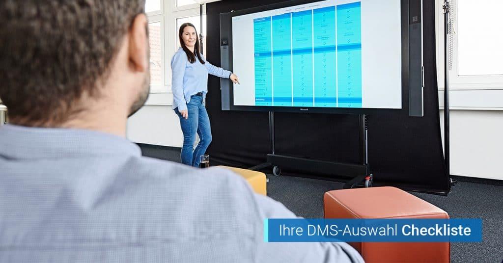 Checkliste Einführung DMS Dokumentenmanagement
