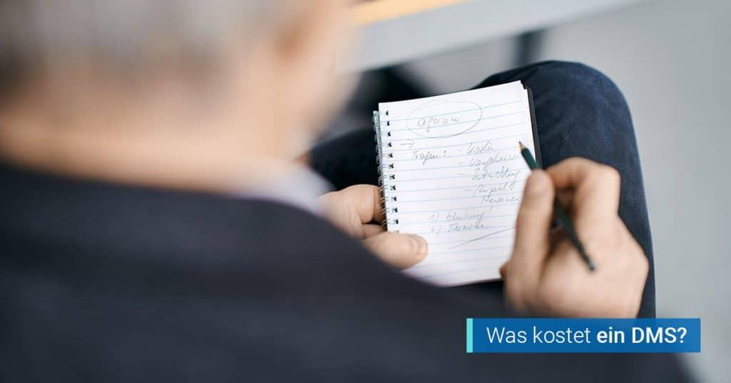 DMS Kosten agorum core Dokumentenmanagement Lizenzkosten Dienstleistung
