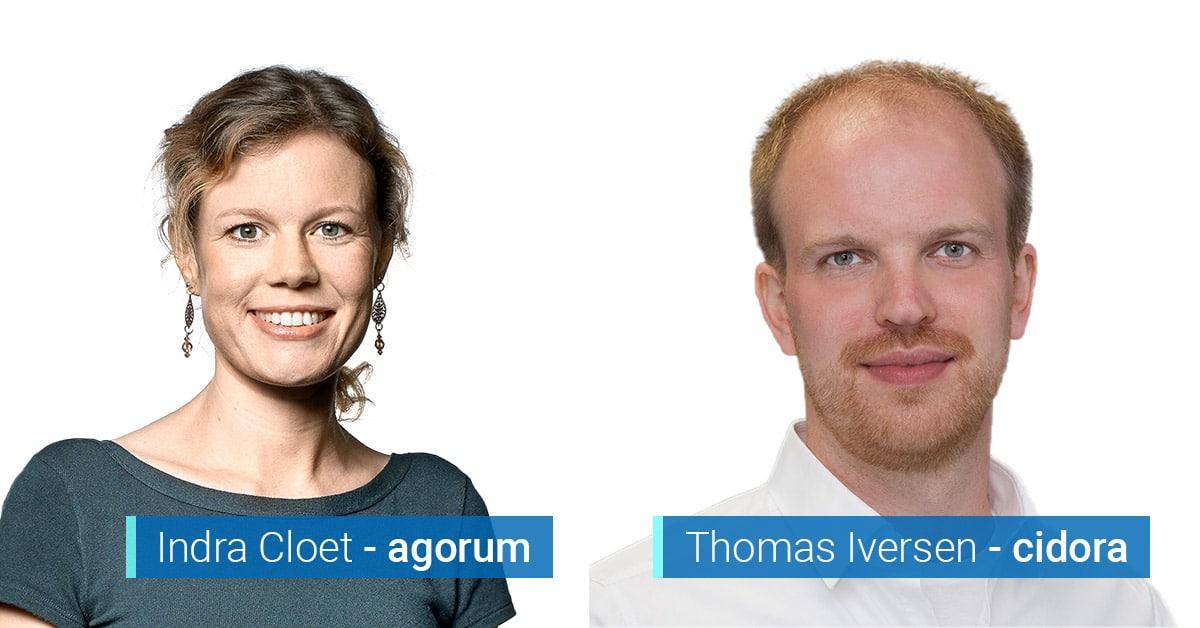 Die E-Akte im gewerblichen Rechtsschutz: Tipps aus der Praxis von Indra Cloet (agorum) und Thomas Iversen (cidora)