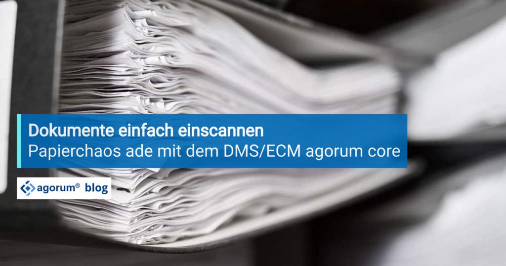Dokumente einfach scannen – ab jetzt herrscht kein Papierchaos mehr