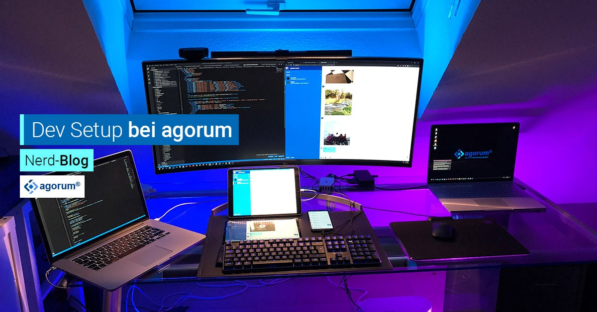 Setup Entwickler Home Office dev setup agorum boost